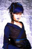 Toshiya is actually very manly without his make-up but with makeup he transform into a very beautiful lady
